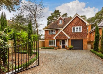 Thumbnail 6 bed detached house for sale in St. Fillans, Maybury Hill, Maybury, Woking