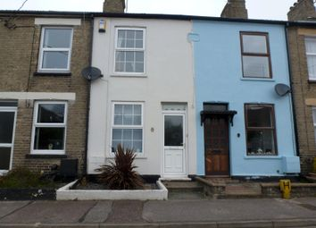 Thumbnail 2 bed terraced house to rent in Holly Road, Oulton Broad, Lowestoft