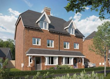 Thumbnail 3 bedroom semi-detached house for sale in Tadpole Rise, Tadpole Garden Village, Swindon