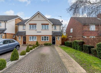 Thumbnail 3 bed semi-detached house for sale in Portland Terrace, Summit Close, Edgware