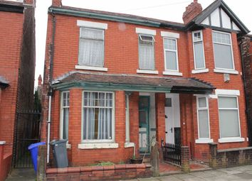 Thumbnail 3 bed semi-detached house for sale in Edenhall Avenue, Levenshulme, Manchester