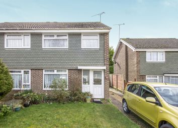 Thumbnail 3 bed semi-detached house for sale in Curlew Close, Ferndown