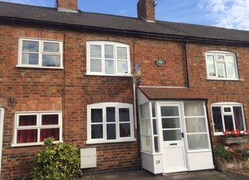 Thumbnail 1 bed cottage to rent in Main Street, Newbold Verdon, Leicester