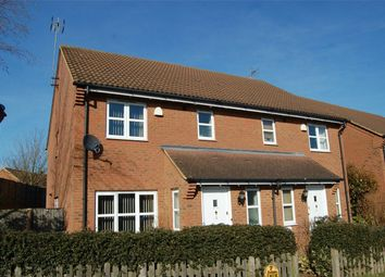 Thumbnail 3 bedroom semi-detached house to rent in Ninesprings Way, Hitchin
