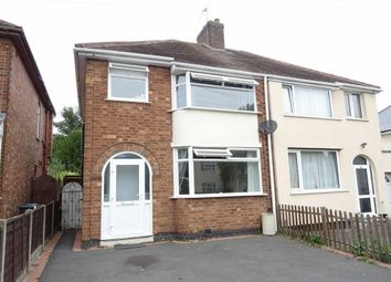 Thumbnail 3 bed semi-detached house for sale in Belle Vue Road, Earl Shilton, Leicester