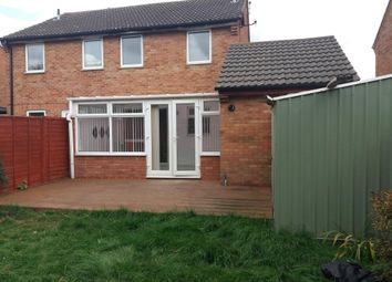 Thumbnail 3 bed semi-detached house to rent in Maple Court, Yaxley, Peterborough