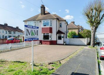 Thumbnail 3 bed semi-detached house for sale in Lime Avenue, Northfleet, Gravesend
