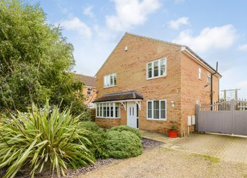 Thumbnail 4 bed detached house for sale in St. Vincents Close, Peterborough, Lincolnshire