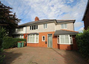 Thumbnail 5 bed semi-detached house to rent in Black Bull Lane, Fulwood, Preston