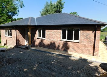 Thumbnail 3 bedroom detached bungalow for sale in Heath Road, Woolpit