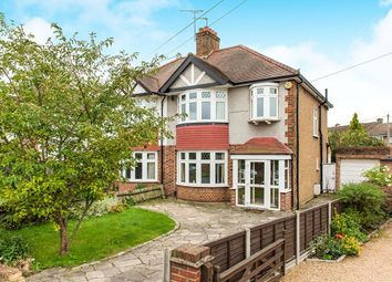 Thumbnail 3 bed semi-detached house to rent in Warren Drive South, Surbiton