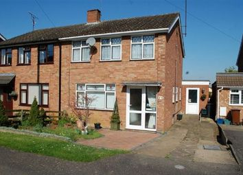 Thumbnail 4 bed semi-detached house for sale in Loxton Close, Duston, Northampton