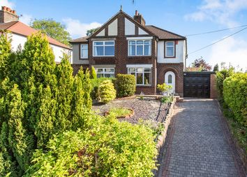 Thumbnail 3 bed semi-detached house for sale in Park Lane, Knypersley, Biddulph