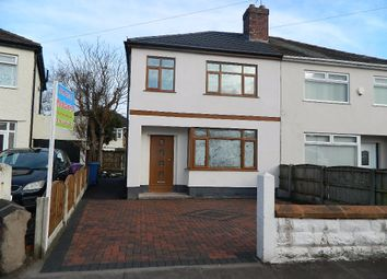 Thumbnail 3 bed semi-detached house for sale in Eaton Close, West Derby, Liverpool