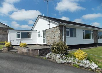 Thumbnail 2 bedroom semi-detached bungalow for sale in Hornapark Close, Lifton, Devon