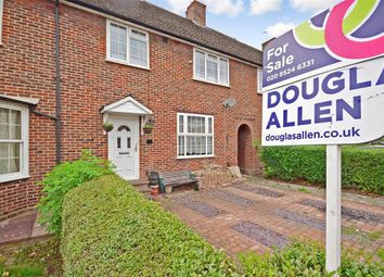 Thumbnail 3 bed terraced house for sale in Manor Farm Drive, London