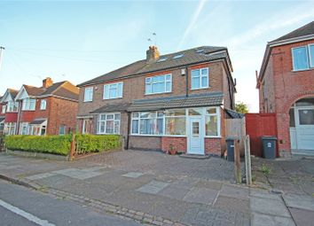 Thumbnail 4 bedroom semi-detached house for sale in Wavertree Drive, Leicester
