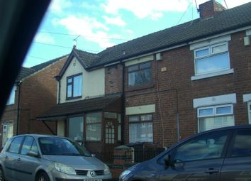 Thumbnail 2 bed terraced house for sale in Staveley Street, Edlington, Doncaster