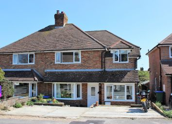 Thumbnail 4 bed semi-detached house for sale in Firle Crescent, Lewes