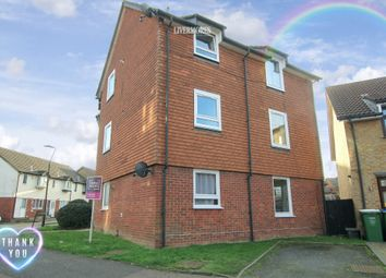 Thumbnail 1 bed flat for sale in Shearwood Crescent, Crayford, Dartford