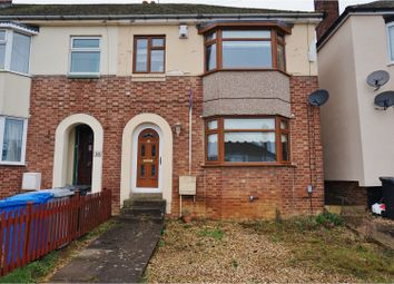 Thumbnail 3 bedroom end terrace house for sale in Silverwood Road, Kettering