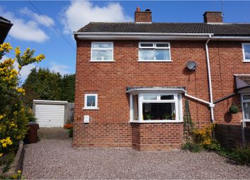 Thumbnail 2 bedroom semi-detached house for sale in Alexander Close, Bromsgrove