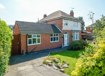 Thumbnail 4 bed detached house for sale in Narborough Road South, Braunstone, Leicester