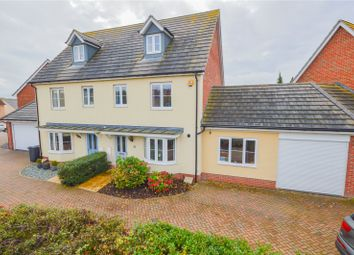 Thumbnail 4 bed semi-detached house for sale in Clutton Road, Saffron Walden, Essex
