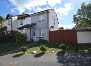 Thumbnail 2 bed end terrace house for sale in Battershall Close, Plymouth, Devon