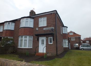 Thumbnail 3 bed semi-detached house for sale in Powburn Gardens, Fenham, Newcastle Upon Tyne