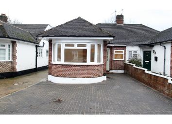 Thumbnail 3 bed semi-detached bungalow for sale in Whitby Road, Ruislip