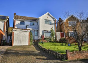 Thumbnail 3 bed detached house for sale in Woolaston Avenue, Lakeside, Cardiff