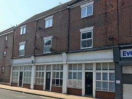 Thumbnail 1 bed flat to rent in Charles Street, Hull