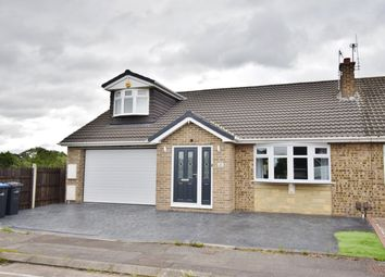 Thumbnail 3 bed semi-detached bungalow for sale in Swainston Close, Acklam, Middlesbrough