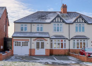 Thumbnail 4 bed semi-detached house for sale in Birchfield Road, Webheath, Redditch