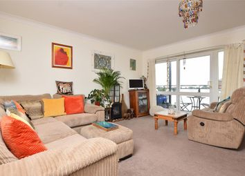 Thumbnail 2 bed flat for sale in Lustrells Vale, Saltdean, East Sussex
