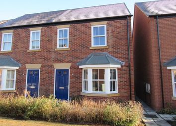 Thumbnail 3 bedroom semi-detached house to rent in Hazel Walk, Alford