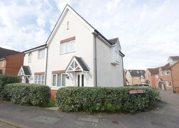 Thumbnail 2 bed end terrace house for sale in Lomond Way, Stevenage
