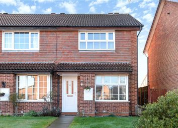 Thumbnail 2 bedroom end terrace house for sale in Armstrong Way, Woodley, Reading