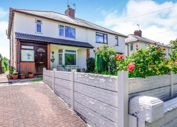 Thumbnail 4 bed semi-detached house for sale in Longcroft, Rushall, Walsall