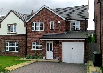 Thumbnail 4 bedroom detached house to rent in Lunns Gardens, Evesham