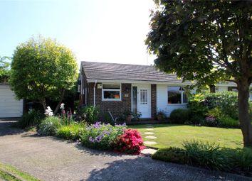 Thumbnail 2 bed semi-detached bungalow for sale in Milton Close, Lancing, West Sussex