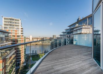 Thumbnail 3 bed flat to rent in Battersea Reach, Battersea