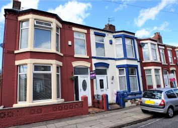 Thumbnail 3 bedroom end terrace house for sale in Claremont Road, Liverpool