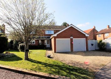 Thumbnail 4 bed detached house for sale in The Paddock, Morton, Bourne