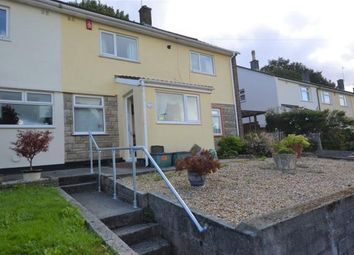 Thumbnail 2 bed semi-detached house for sale in Tintagel Crescent, Plymouth, Devon