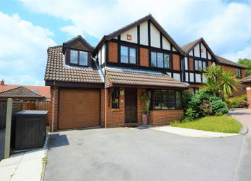 Thumbnail 4 bed detached house to rent in Blackberry Close, Clanfield, Waterlooville