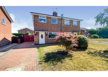 Thumbnail 3 bed semi-detached house for sale in Portland Grove, Haslington, Crewe