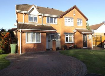 Thumbnail 3 bed semi-detached house for sale in Ashburn Grove, Willenhall, West Midlands