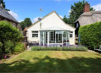 Thumbnail 2 bed detached bungalow for sale in Stockbridge Road, Winchester